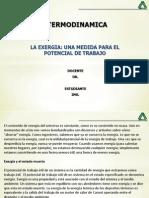 Cap. 8. La Exergia, Una Medida Para El Potencial de Trabajo