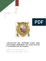 Lingo Localizacion de Planta