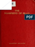 The Manifesto of Islam