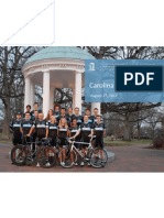 UNC Cycling Information 2012-2013