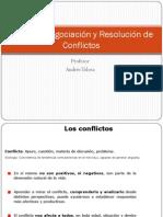 Taller de Negociacion y Resolucion de Conflictos