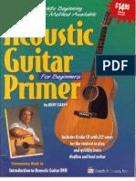 Acoustic Guitar Primer for Beginners