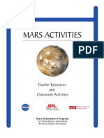 Mars Missions Activities