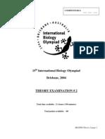 IBO 2004 Theory Part 2