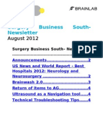 SB South- Newsletter- August 2012
