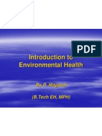 Inroduction to Environmental Health