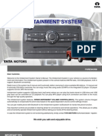 Tata Aria Infotainment System