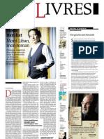 Supplément Le Monde des livres 2012.09.28