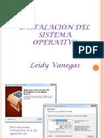 2.. Instalacion Del Sistema Operativo