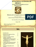 Análisis Portada de la Iglesia de San Francisco Javier