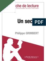 Philippe Grimbert - Un Secret (Fiche de Lecture)