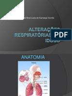 Alterações respiratórias no idoso