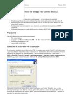 Configuracion DMZ