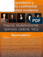 Filosofía moderna, Racionalistas