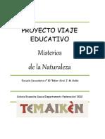 Proyecto Viaje Educativo