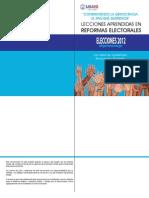 Lecciones Aprendidas en Reformas Electorales
