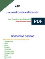 b.parametros de Calibracion
