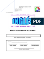 Examen Ingles Bachillerato