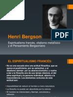 Henri Bergson y el espiritualismo francés