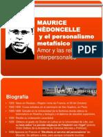 Maurice Nèdoncelle y el personalismo metafísico