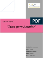 Etica Ensayo