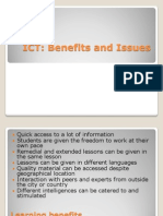 13571878 Ict Benefits and Issues