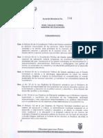 Acuerdo 244-08 - Unidades Del Milenio