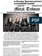 Heavy Metal Tribune Issue 3 (October 2012)