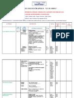 Plan Semanal de Trabajo e Informe de Actividades Cumplidas de La Labor Educativa Fuera de Clase