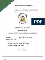 informe de difusividad y conductividad termica de la chirimoya