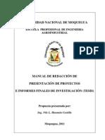 Manual de Redacción (informe cientifico monografia, etc)