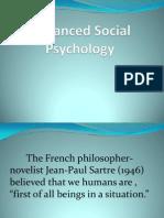 1.1 Advanced Social Psychology
