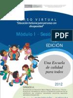 M1Sesión 1- El cambio educativo diversidad y una escuela para todos - PARTE 1