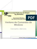 Ventana de Comandos de Windows