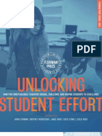 Unlocking Student Effort