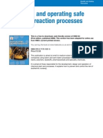 Chemical Process & Safety Hazards