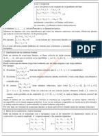 Sistemas de ecuaciones. Teorema de Rouché (Matemáticas II)