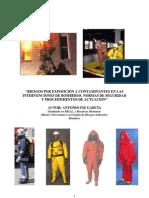 88035720 Riesgos Por Exposicion a Contaminantes en Las Intervenciones de Bomberos Normas de Seguridad y Procedimientos de Actuacion (1)