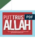Put Trust in Allah