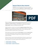 Legalización Instalación Eléctrica Nave Industrial