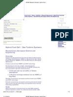 Gas Turbine Systems - Revolutionary Aerospace Science and Engineering