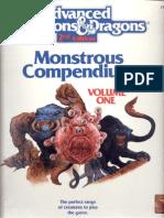 MC01 Monstrous Compendium Volume 1 (TSR 2102)