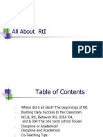 All About RtI
