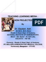 Teaching Nonprojected