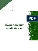 Management Studii