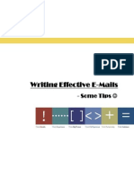 Writing Effective Emails CITE HR