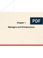 Chapter 1 - Managers & Entrepreneur