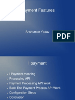 I PAyment Features