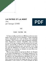 Esprit 5-9-193302 - Izard, Georges - La Patrie Et La Mort (Fin)