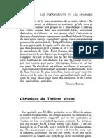 Esprit 5 - 18 - 193302 - Touchard, Pierre-Aimé - Chronique du théâtre vivant